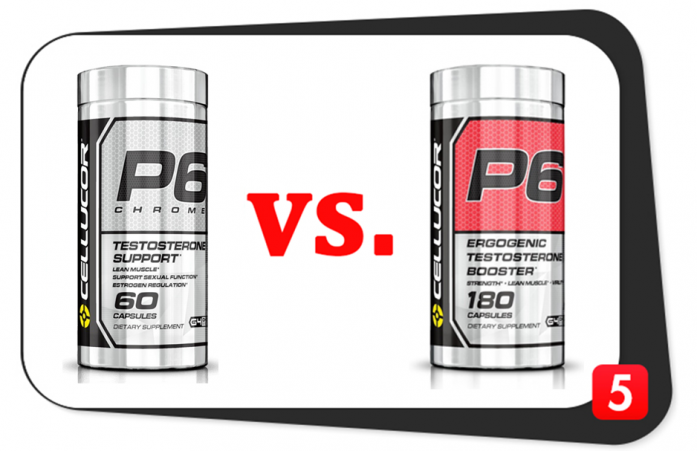 Cellucor P6 Chrome vs. P6 Red