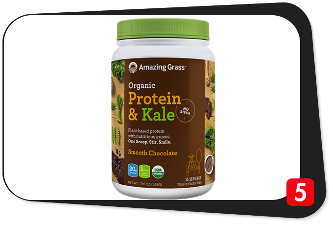 Amazing Grass Protein & Kale Review – Plant-Based Protein Supplement Is All Hype