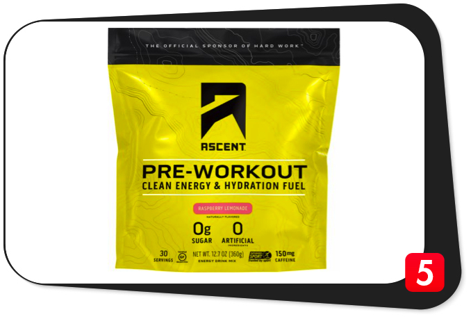 ASCENT PRE-WORKOUT Review – Pre-Workout Clean Energy & Hydration Fuel's Non-Traditional Ingredients Pull It Off