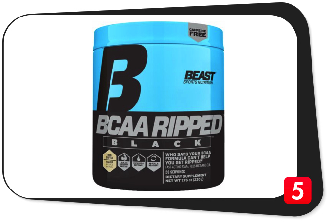 Beast BCAA Ripped Black Review – This BCAA Formula Can Help You Get Ripped