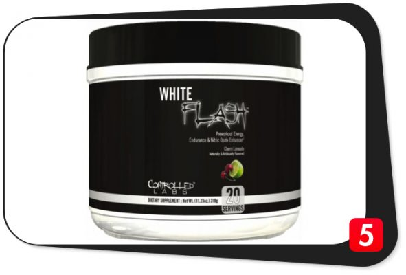 Controlled Labs White Flash Review – Pre-Workout Energy, Endurance, & Nitric Oxide Enhancer Pulls Out All The Stops