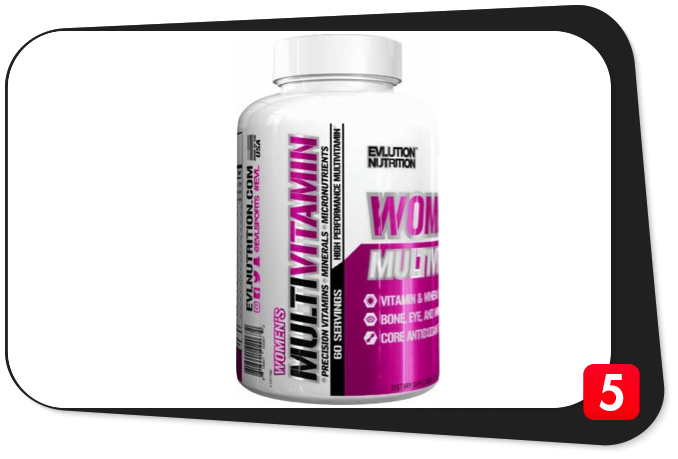 EVL NUTRITION WOMEN'S MULTIVITAMIN Review – High-Performance Multivitamin A Jill Of All Trades