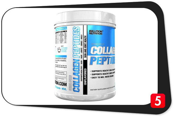 EVLUTION NUTRITION Collagen Peptides Review – Your Joints Will Love You For It