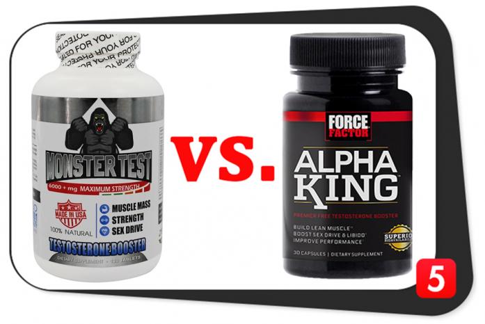 Monster Test vs. Alpha King