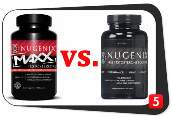 Nugenix Maxx vs. Nugenix Free Testosterone Booster