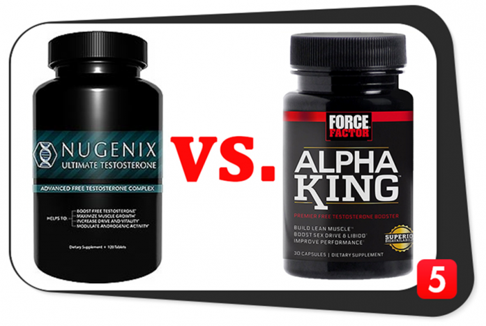Nugenix Ultimate Testosterone vs. Alpha King