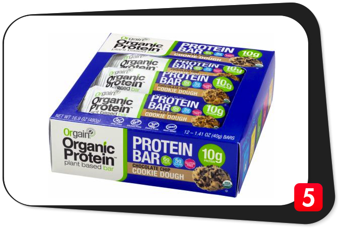 Orgain Organic Protein Bar Review – Raise The Bar High