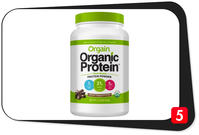 Orgain Organic Protein Powder Review – Organic Vegan Protein Powder Meets Expectations