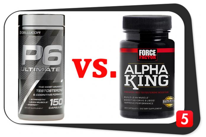 Cellucor P6 Ultimate vs. Alpha King