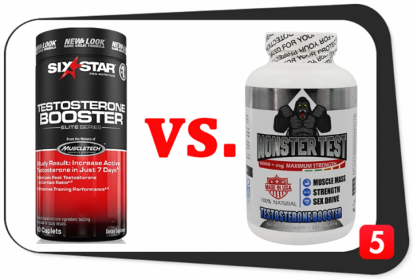 Six Star Testosterone Booster vs. Monster Test