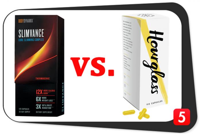 Slimvance Thermogenic vs. Hourglass