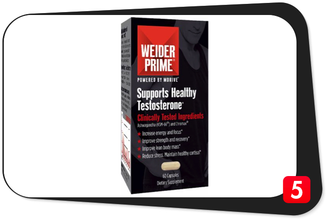 WEIDER PRIME Review – Healthy Testosterone Support's Potency A Huge Question Mark