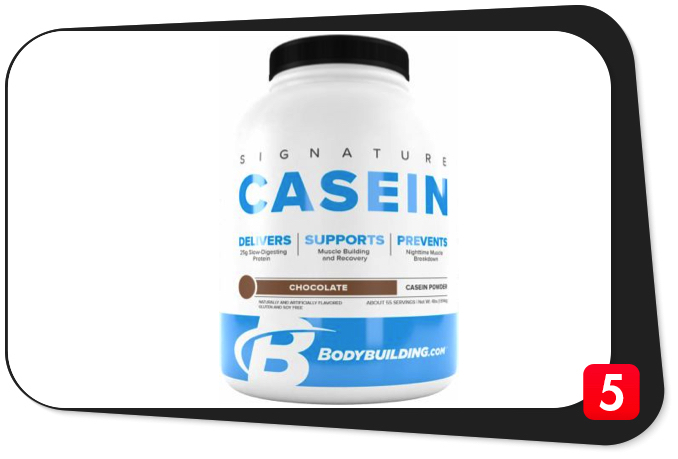 Bodybuilding.com Signature Casein Review – Slow-Absorbing Protein Supplement Won't Blow You Away