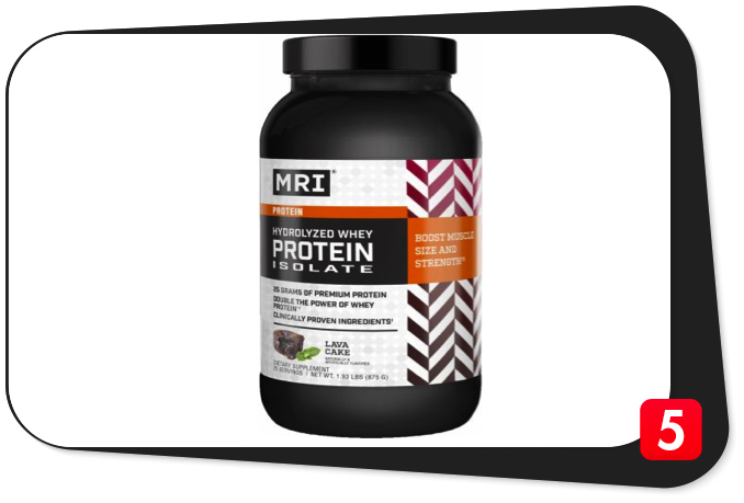 MRI HYDROLYZED WHEY PROTEIN ISOLATE Review – 'Double The Power Of Whey Protein' Battle Cry Speaks Volumes