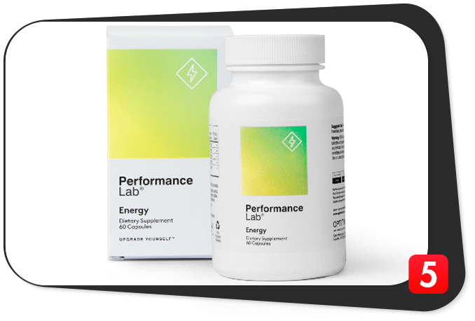 Performance Lab Energy Review – Stim-Free Mitochondria Supercharger Vitalizes Body and Mind