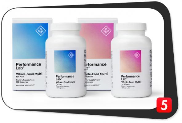 Performance Lab Whole-Food Multi Review – BioGenesis Nutrients Innovate Multivitamin Vitality