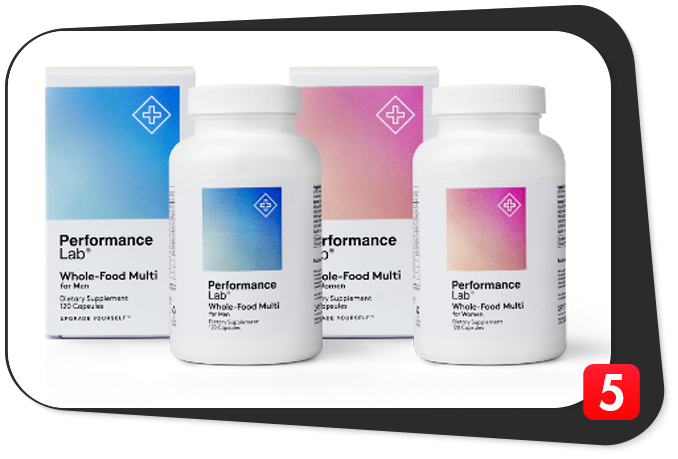 Performance Lab Whole-Food Multi Review – BioGenesis Nutrients Innovate Multivitamin Vitality