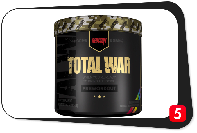 Redcon1 Total War Review – Powerful Pre-Workout Brings The Noise
