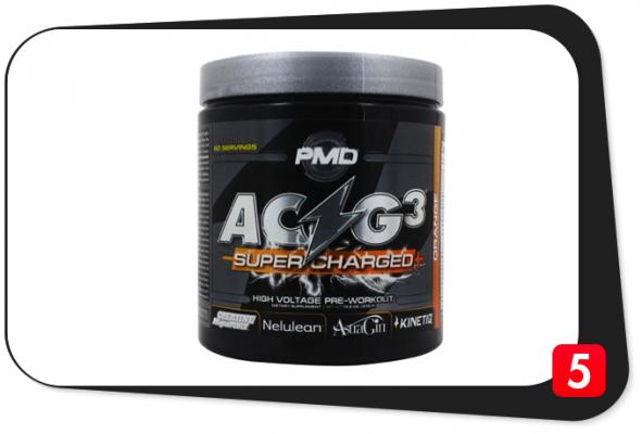 PMD ACG3 SUPERCHARGED+ Review – High-Voltage Pre-Workout Merely Hype in a Bottle