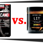 Force Factor VolcaNO vs. GNC BEYOND RAW LIT