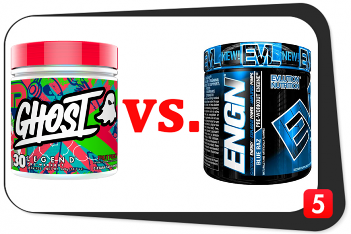 Ghost Legend vs. EVL ENGN