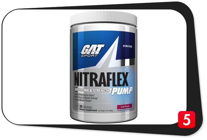 GAT NITRAFLEX PUMP Reivew – Chase the Pump With This Unique Hyperemia & Strength Formula