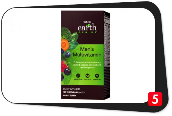 GNC Earth Genius Men's Multivitamin Review – Vegetarian Multivitamin Makes Good First Impression