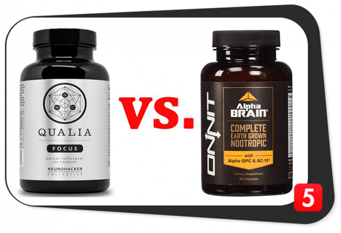 Qualia Focus vs. Alpha Brain