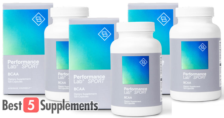 3 bottles of Performance Lab Sport BCAA