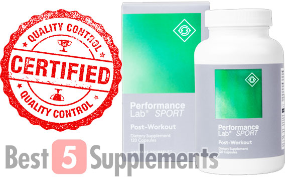 Best5Supplement's favorite vegan post workout supplement this year