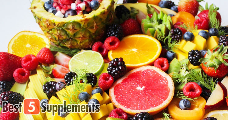 Best Multivitamin for Men showing a bowl of fruit