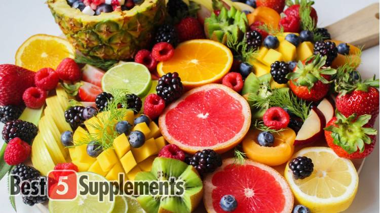Mixed fruit to show the best multivitamin for men over 50