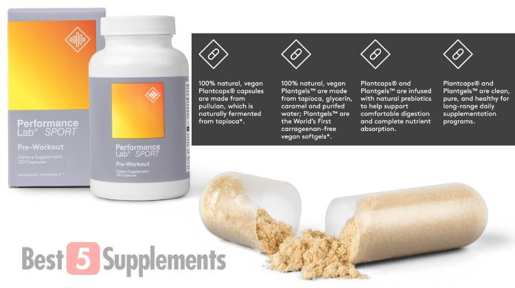 Capsules are the fix for pre-workout powder turning clumpy or hard