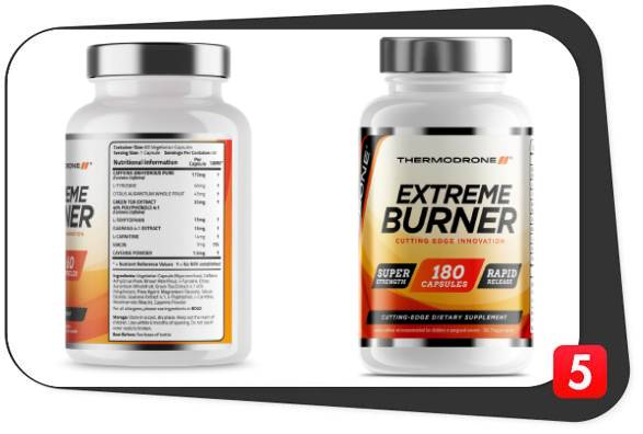Thermodrone Extreme Burner Review - Best 5 Supplements