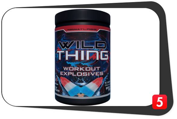 A bottle of Wild Thing Pre-Workout by Assault Labs for Best5Supplements' Review