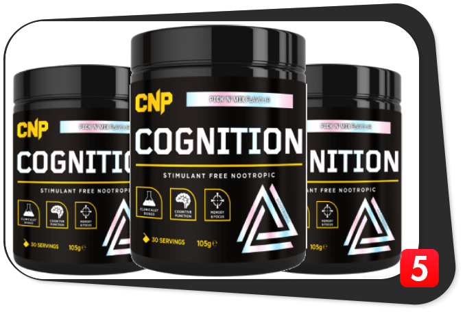 3 bottles of CNP Cognition for this review.