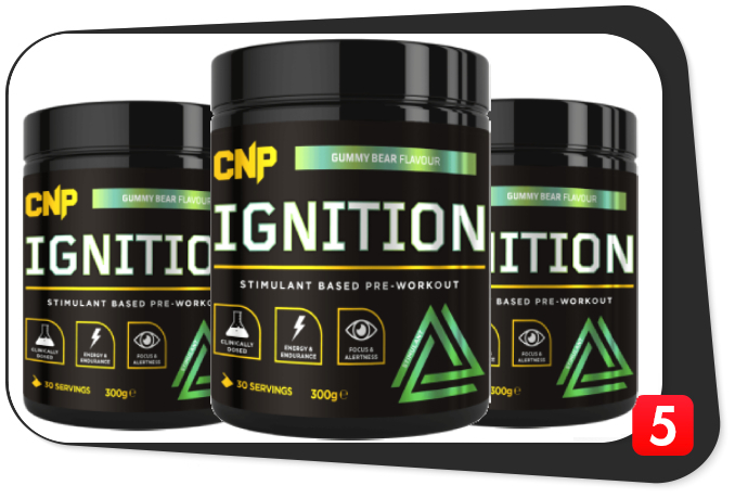 3 bottles of CNP Ignition for our Best5Supplements Review