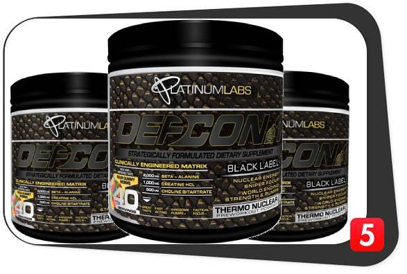Defcon1 Pre-Workout Review