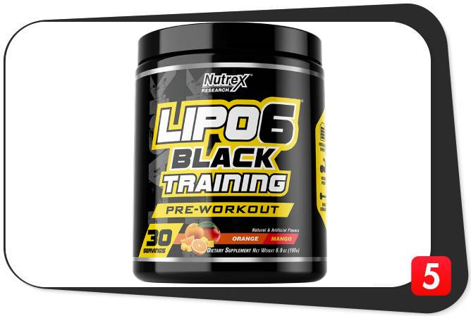 Lipo 6 Black Training Review