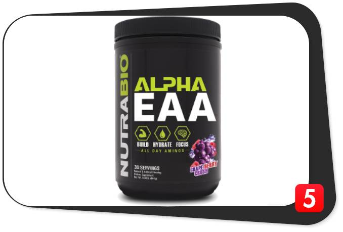NutraBio Alpha EAA Review
