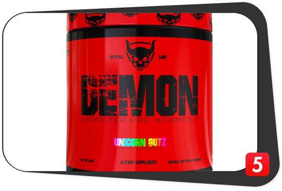 Spitfire Labs Demon Pre-Workout Review
