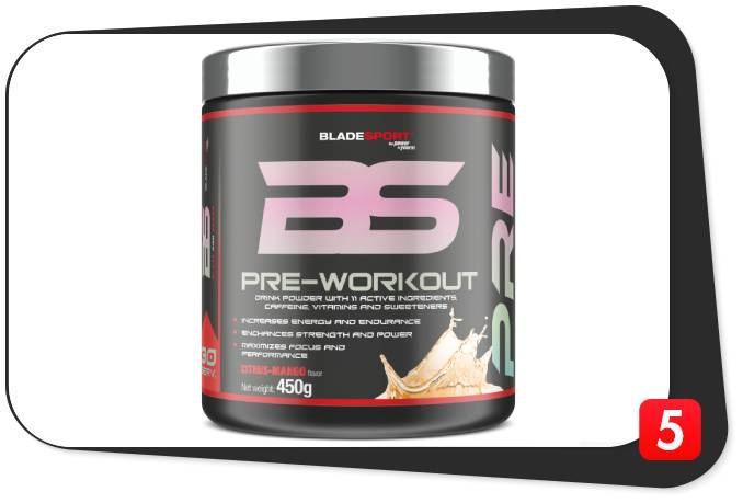 Blade Sport Pre-Workout Review