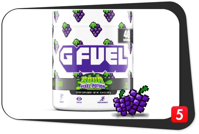 G Fuel Sour Pixel Potion Review