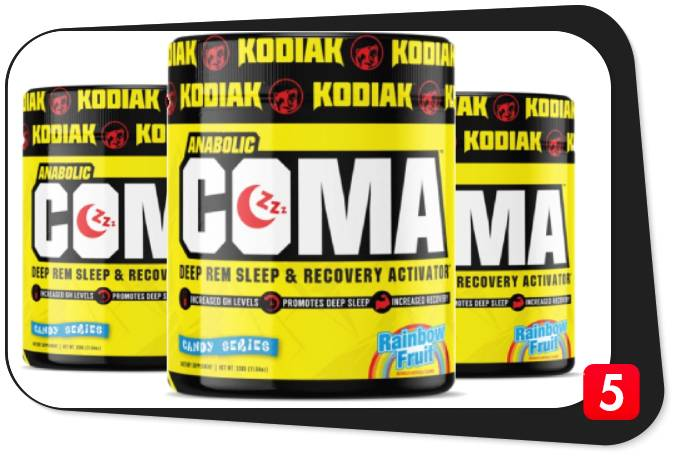 3 containers of Kodiak Anabolic Coma for our review
