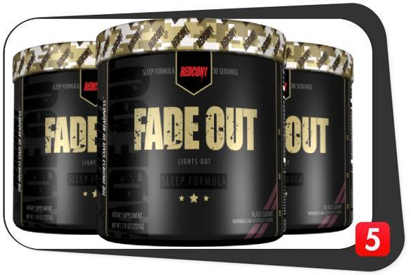 3 bottles of RedCon1 Fade Out for this review