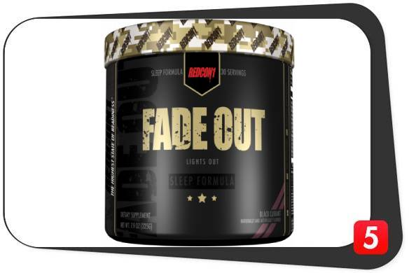 Redcon1 Fade Out Review