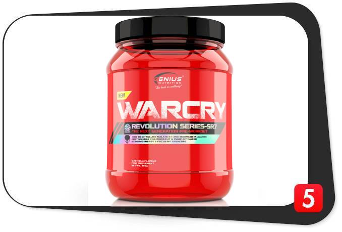 Genius Nutrition Warcry Review