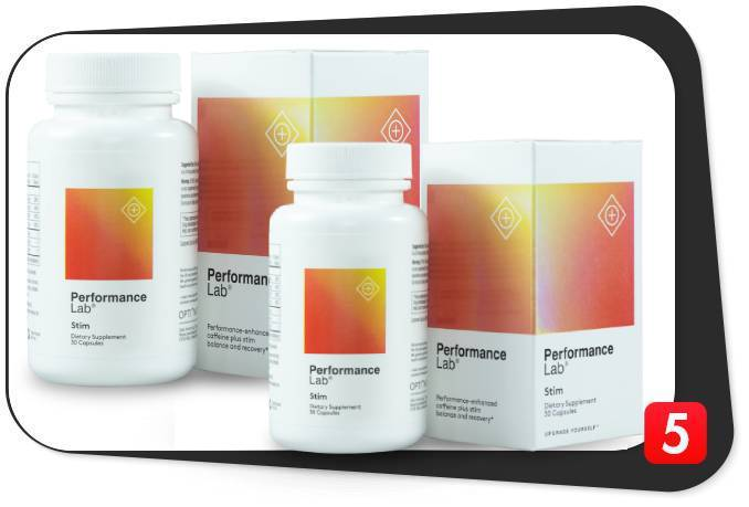 2 bottles of Performance Lab Stim in our review