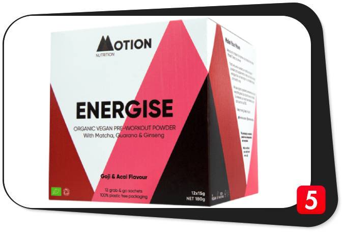 Motion Nutrition Energise Review