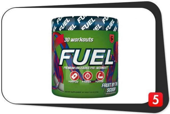 Campus Protein FUEL Pre-Workout Review